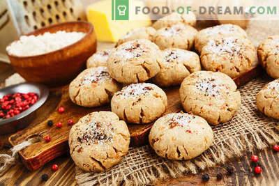 Avižiniai dribsniai su varške - subtilūs pyragaičiai kiekvieną dieną. Paprasti receptai avižiniai sausainiai su varške, pagaminta iš dribsnių ir miltų