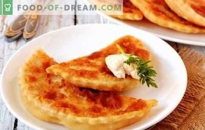 Flapjacks su sūriu ir žalumynais keptuvėje yra šeimininkės stebuklinga lazdelė. Tortilijų receptai su sūriu ir žolelėmis