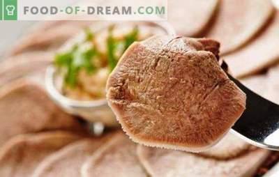 Jautienos liežuvis lėtoje viryklėje - delikatesas su mėsos skoniu! Geriausi mėsos liežuvio gaminimo receptai ir metodai lėtoje viryklėje