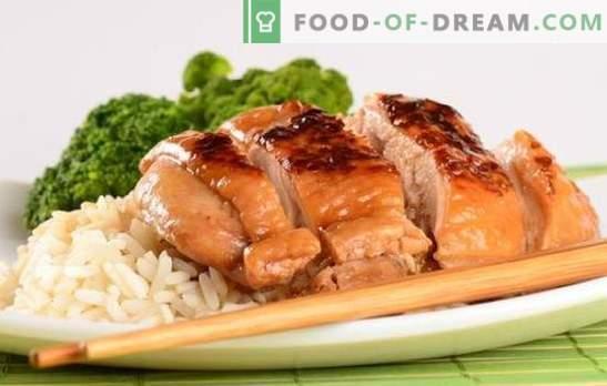 Vištienos filė sojos padaže yra puikus marinatas paukštienai. Vištienos filė su sojos padažu puode, keptuvėje ir orkaitėje