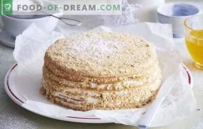 Medaus pyragas: žingsnis po žingsnio receptas jūsų mėgstamam desertui! Skanūs medaus pyragaičiai su įrodymais, žingsnis po žingsnio receptai