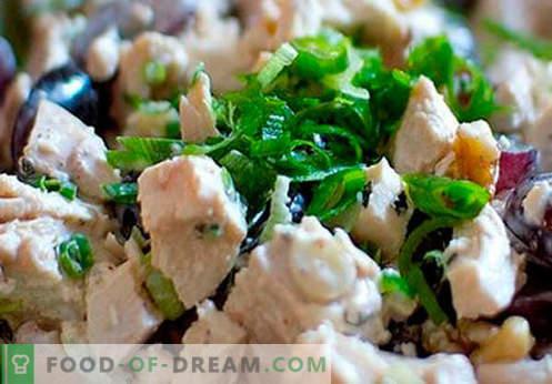 Rūkytos vištienos salotos - geriausi receptai. Kaip tinkamai ir skaniai paruošti salotą su rūkytu kumpiu