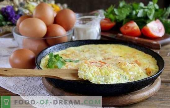 Klaidos pradedantiesiems ruošiant omeletus