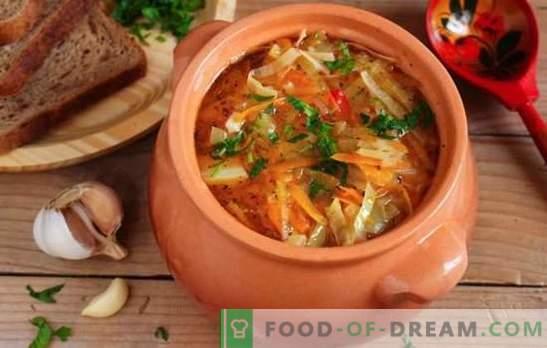 liesos kopūstų sriuba, pagaminta iš raugintų kopūstų - receptai ir virimo paslaptys. Kaip gaminti skanius raugintus raugintus raugintus kopūstus
