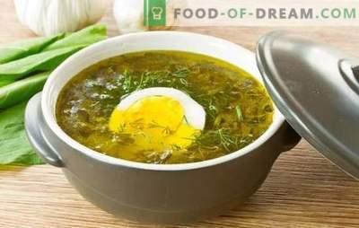 Saldainių sriuba su kiaušiniu: žingsnis po žingsnio receptai iš širdies iki mitybos. Saldainių sriubų virimas kartu su kiaušiniu, ryžiais, sūriu ir avižomis
