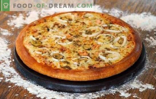 Skystos tešlos pyragams ir majonezo pica - minutės kepimas! Receptai lengvai paruošti tešlą pyragams ir picai majoneze