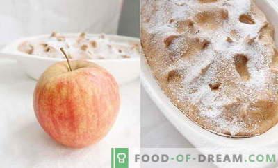 """""""Apple Soufflé"""" - geriausi receptai. Kaip greitai ir skaniai ruošti obuolių kepsnius."""