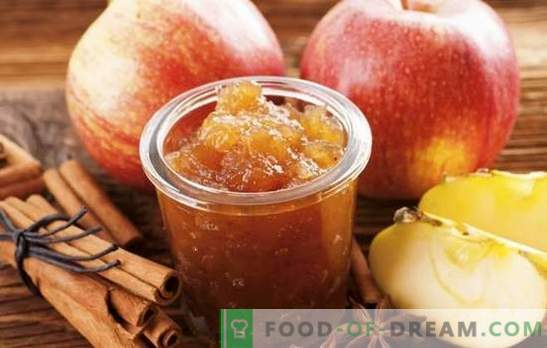 Домашно сладко от ябълки за зимата - необходимата подготовка! Рецепти на различни ябълки от ябълки у дома