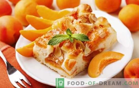 Abrikosų pyragas iš Julia Vysotskaya yra šedevras! Receptai garsus abrikosų pyragas iš Vysotsky ir jo modifikacijos