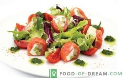 Rūkyta pomidorų salotos - rūkyti užkandžiai! Receptai skanios salotos su rūkomais pomidorais visoms progoms