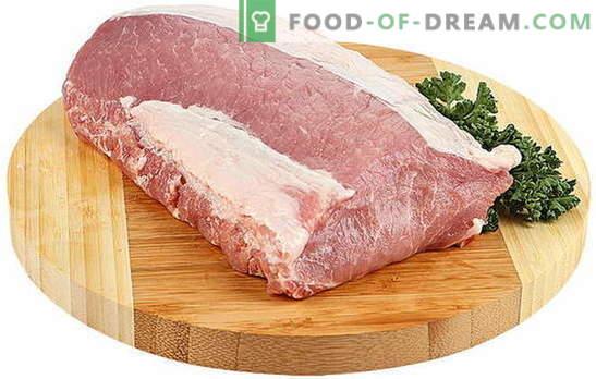 Kaip virėjas, kad kiaulienos mėsa būtų minkšta - geriausi receptai ir kulinariniai stebėjimai. Kiaulienos virimo niuansai