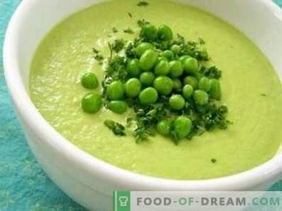 Žalioji žirnių kremo sriuba