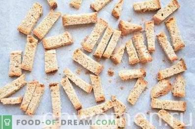 Rugių krekeriai su česnakais orkaitėje