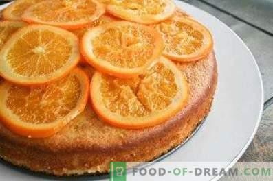Šarlotas su apelsinais