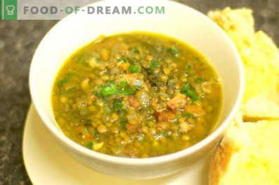Žalioji lęšių sriuba