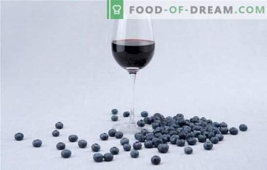 Značilnosti pripravka pivine za borovničevo vino. Preprosti recepti za tradicionalno domačo borovniško vino