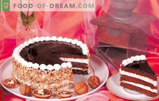 Apie graikinių riešutų pyragus - tik tiesa! Profesinės virimo pyragų paslaptys su graikiniais riešutais ir slyvomis